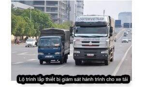Lộ trình gắn thiết bị giám sát hành trình cho xe tải