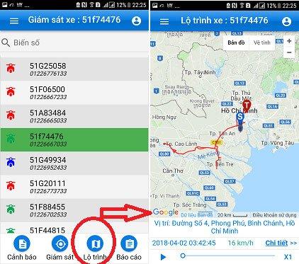 định vị GPS định vị sài gòn app 2