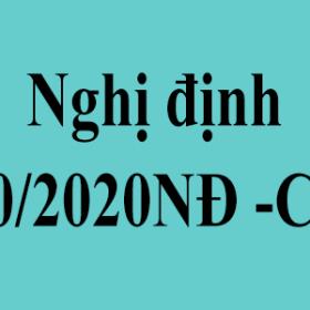 Nghị định 10/2020NĐ-CP camera hợp chuẩn