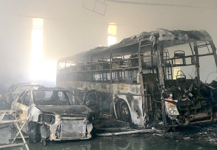 Phòng cháy chữa cháy xe khách