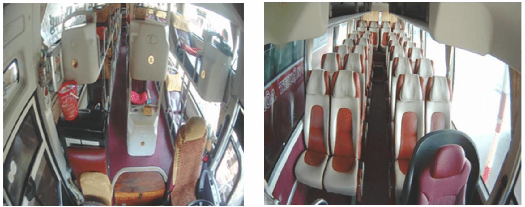 vị trí lắp đặt camera quan sát khoang hành khách, camera nghị định 10